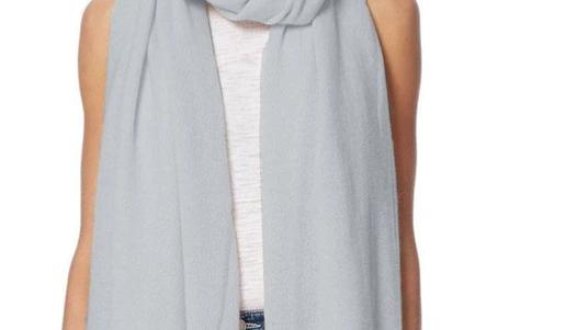 360 Cashmere - Linus scarf Misty Blue