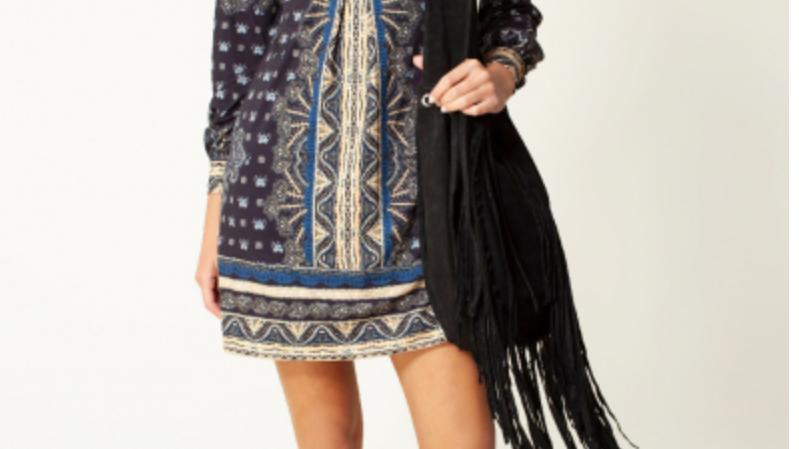 Hale Bob - Aurora Jersey Dress Beaded  - Black