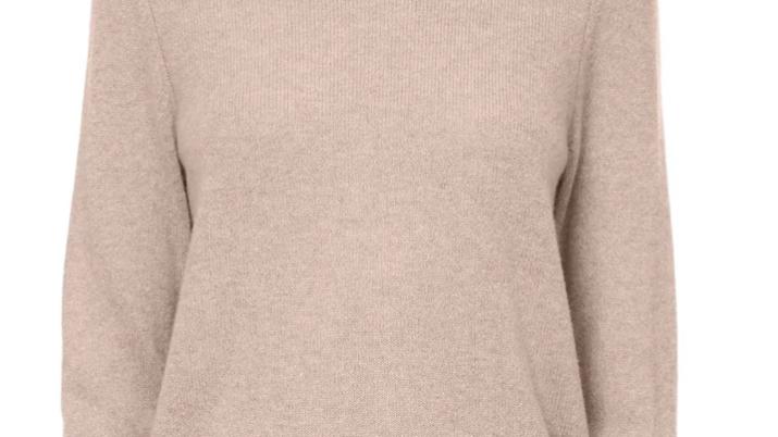 360 Cashmere - Leila Crewneck Sweater Adobe Pink