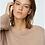 Thumbnail: Dorothee Schumacher - Deconstructed Look Sweater Turtle - Milky Toffee
