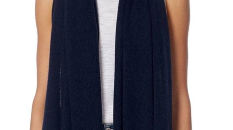 360 Cashmere - Linus scarf Navy