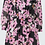 Thumbnail: Dorothee Schumacher - Floral Graphics Dress - Pink Flowers on Black
