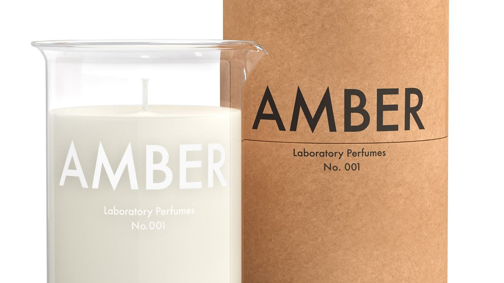 Laboratory Perfumes - Amber Scented Candle (200g)ml)