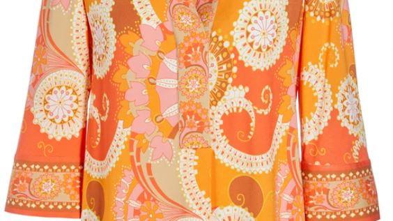 Dea Kudibal - KAMI (V) - Khanga Orange - BLOUSE