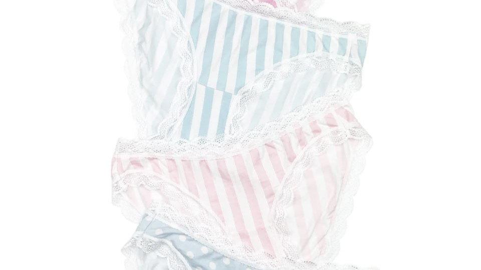 Stripe & Stare - Spots & Stripes Knicker Box