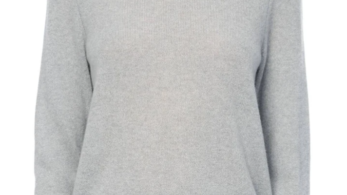 360 Cashmere - Leila Crewneck Sweater Misty Blue