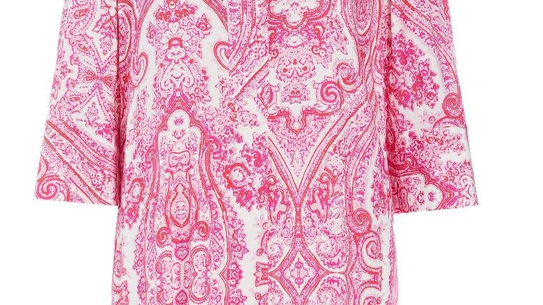 Dea Kudibal - KAMILLE - Paisley Pink - Shirt Dress