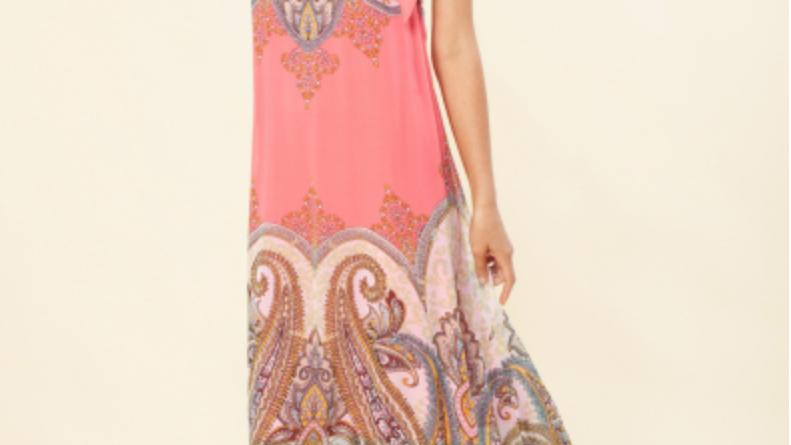 Hale Bob - Bettina Maxi Dress - Coral