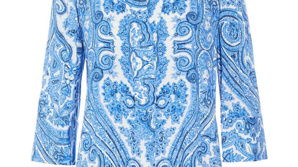Dea Kudibal - KAMI (V)  - Paisley Blue - Tunic