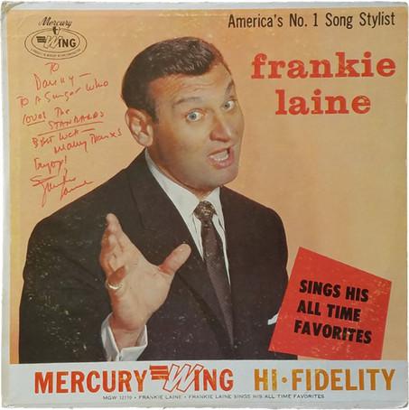 Frankie Laine signed album