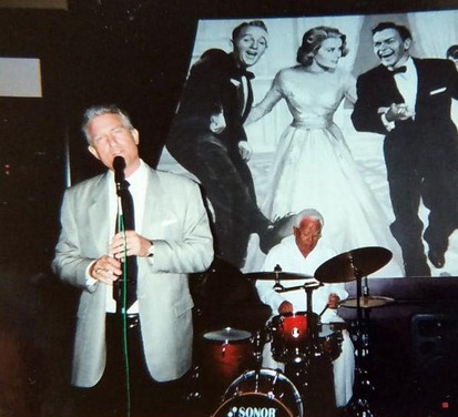 Sensitive moment at Bing Crosby's with Carlos Vasquez on drums