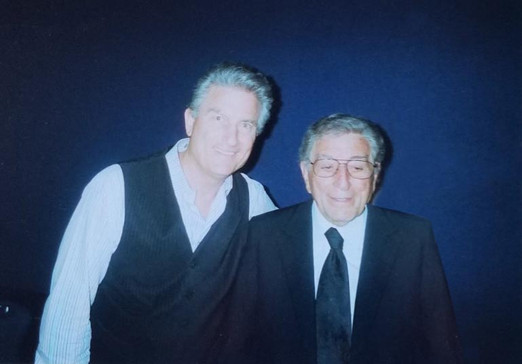 Tony Bennett with guess who