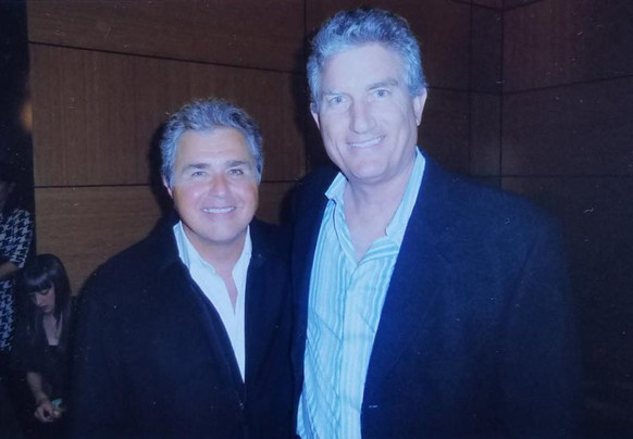 With Steve Tyrell, American Songbook man
