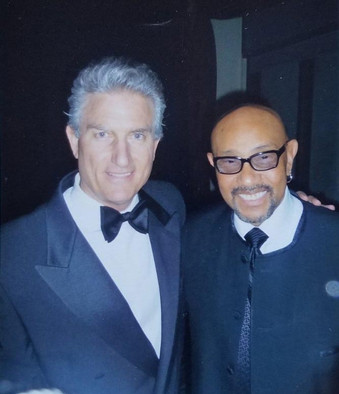 With bass master John B. Williams