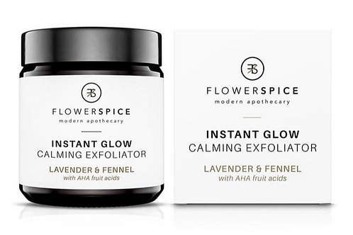 FlowerSpice   Instant Glow Calming Exfoliator