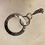Thumbnail: Naked Natural   Beaded Key Ring