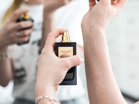 Why does perfume trigger powerful memories?