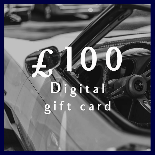 Digital Giftcard £100