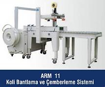 ARM-11 Koli Bantlama ve Çemberleme Sistemi