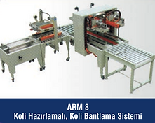 ARM-8 Koli Hazırlamalı Koli Bantlama