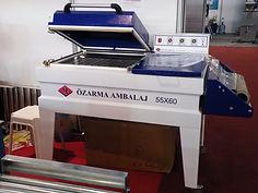 Özarma Ambalaj ARM-301 Küvez Shrink Makinesi
