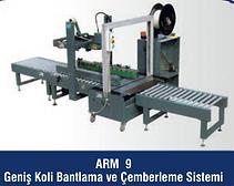 ARM-9 Geniş Koli Bantlama ve Çemberleme Sistemi