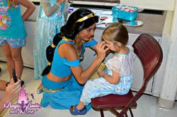 Makeup with the Arabian Princess
