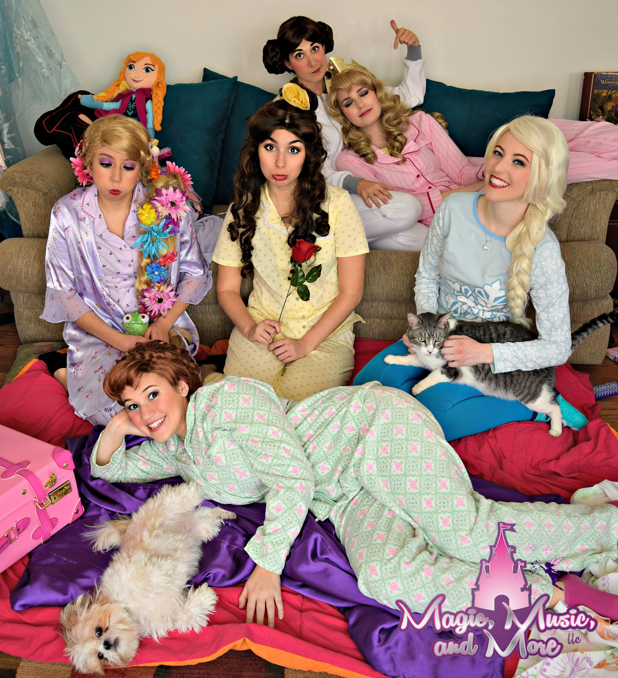 Princess Pajama Party!