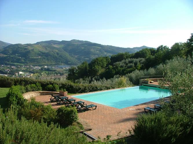 Castagna Alta Piscina