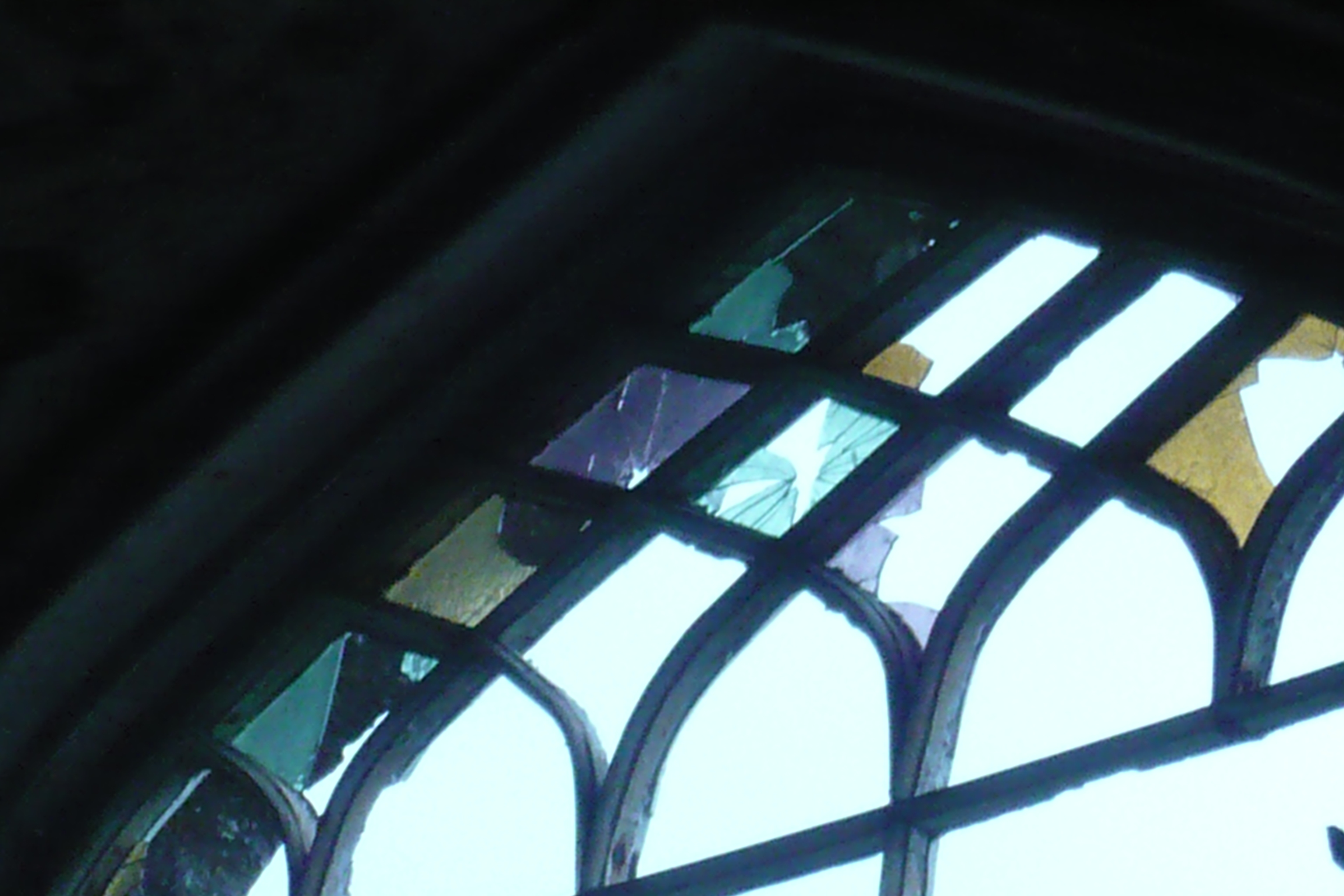 St Mary's Church Lybster, window detail
