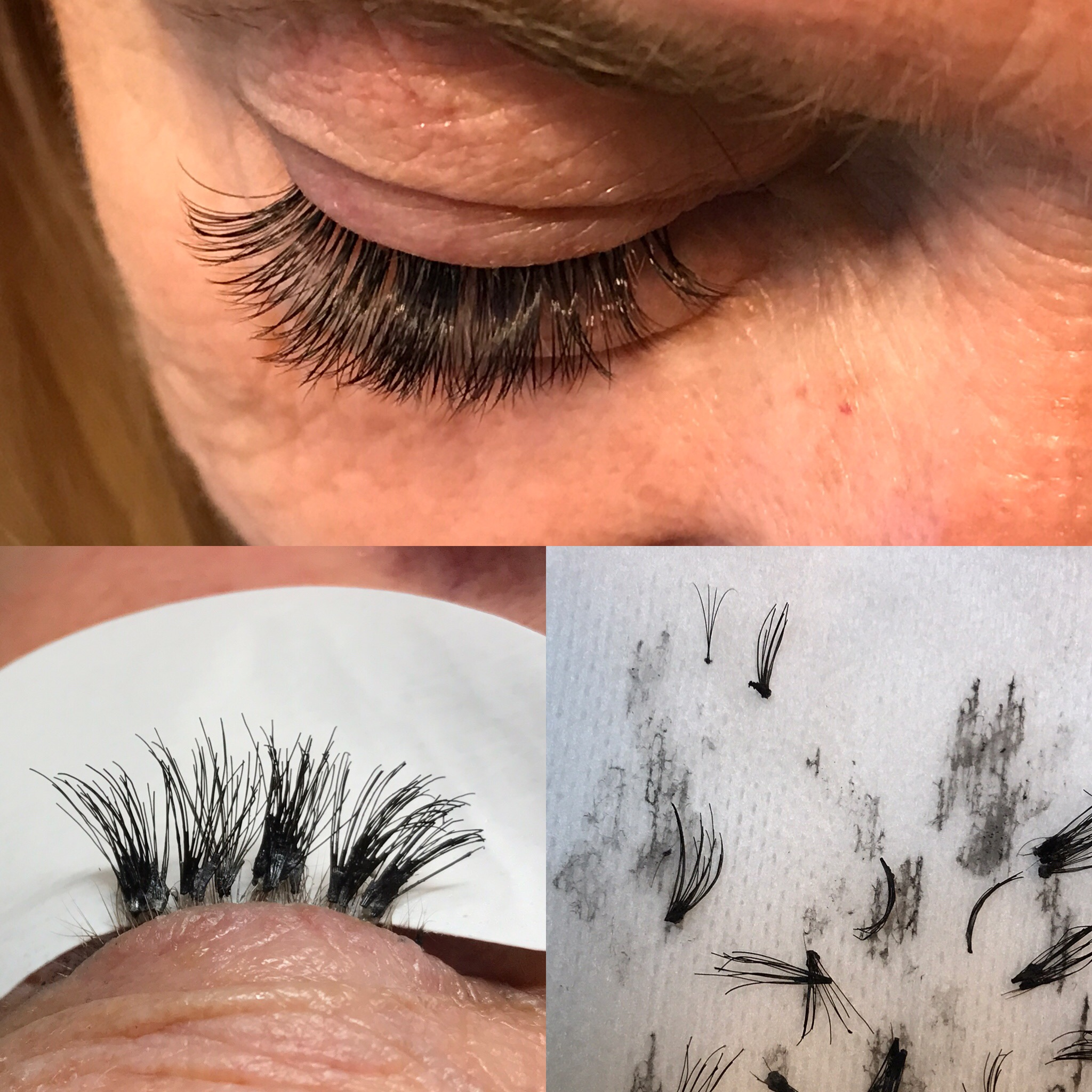 The Difference Between Cluster Lashes And Volume Lashes Nichole