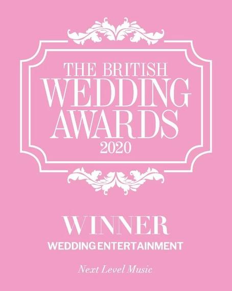 Next Level Music - British Wedding Awards Winner 2020