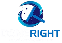 Done Right Carpet Cleaning Logo - Omaha