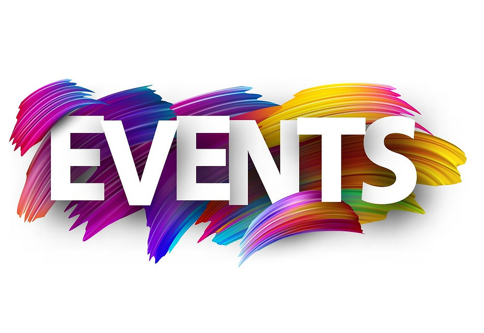 events-paper-poster-with-colorful-brush-