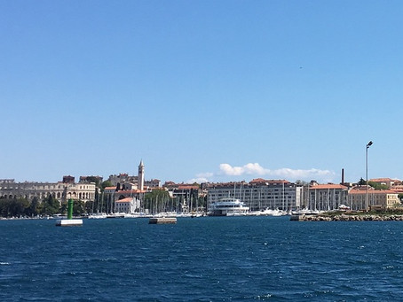 Pula na Croácia, cidade mais romana do país