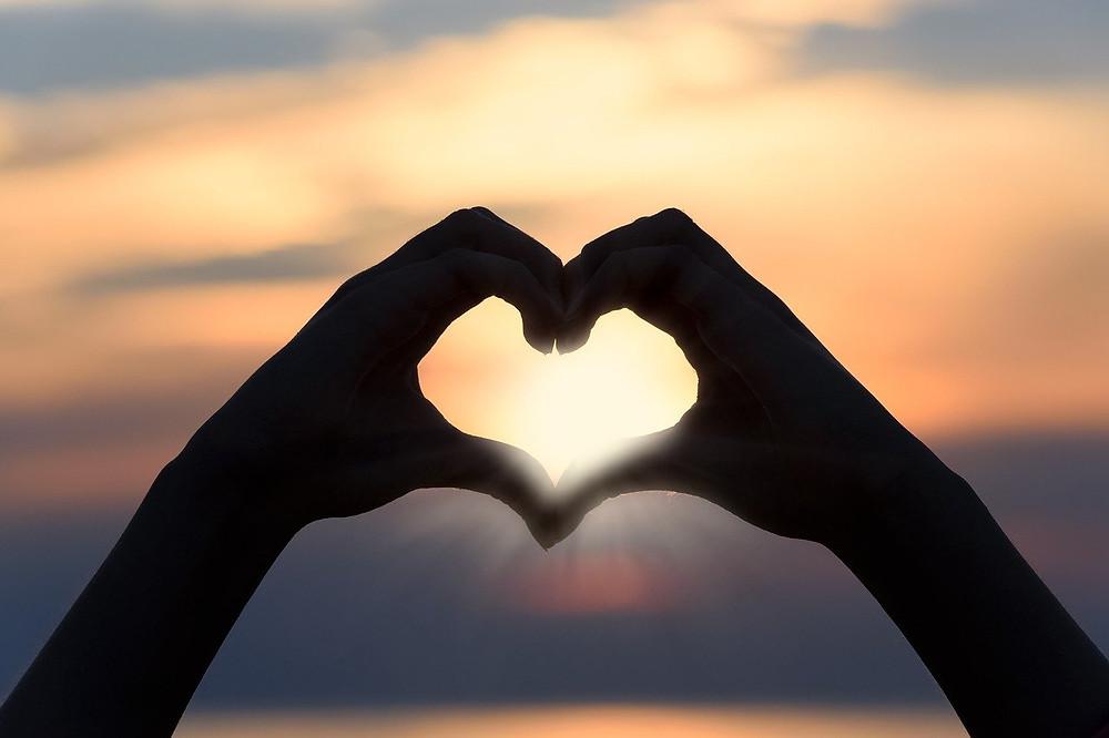 Coração e o sol