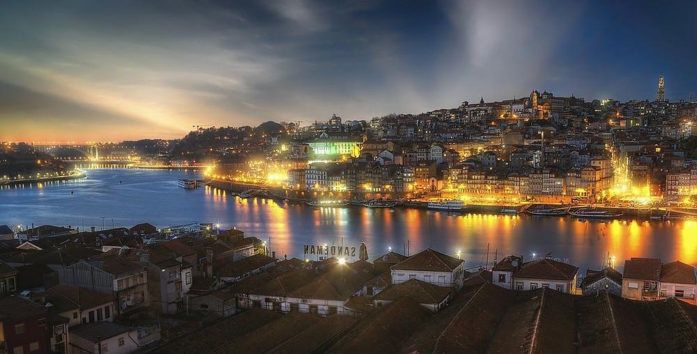 Porto, Rio Douro, Portugal,