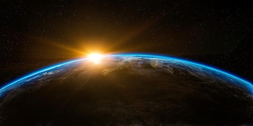 Nascer do dia no planeta