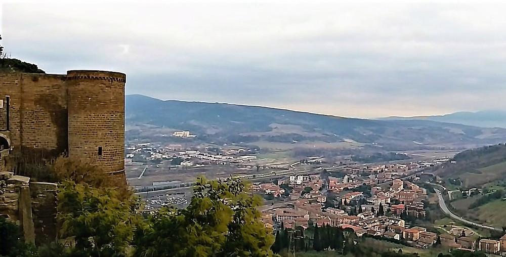 Orvieto do alto, Itália