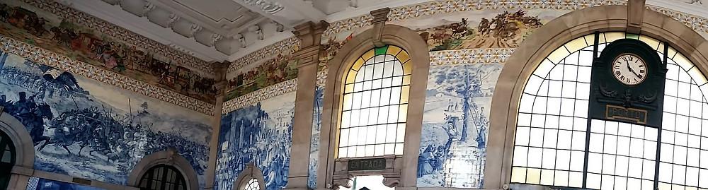 Estação São Bento no Porto, Portugal