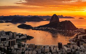 Rio de Janeiro, por do sol