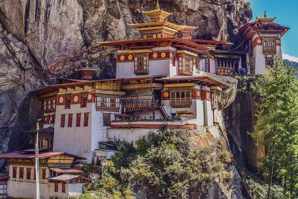 Monastério Taktsang Palphug em Thimphu, Butão
