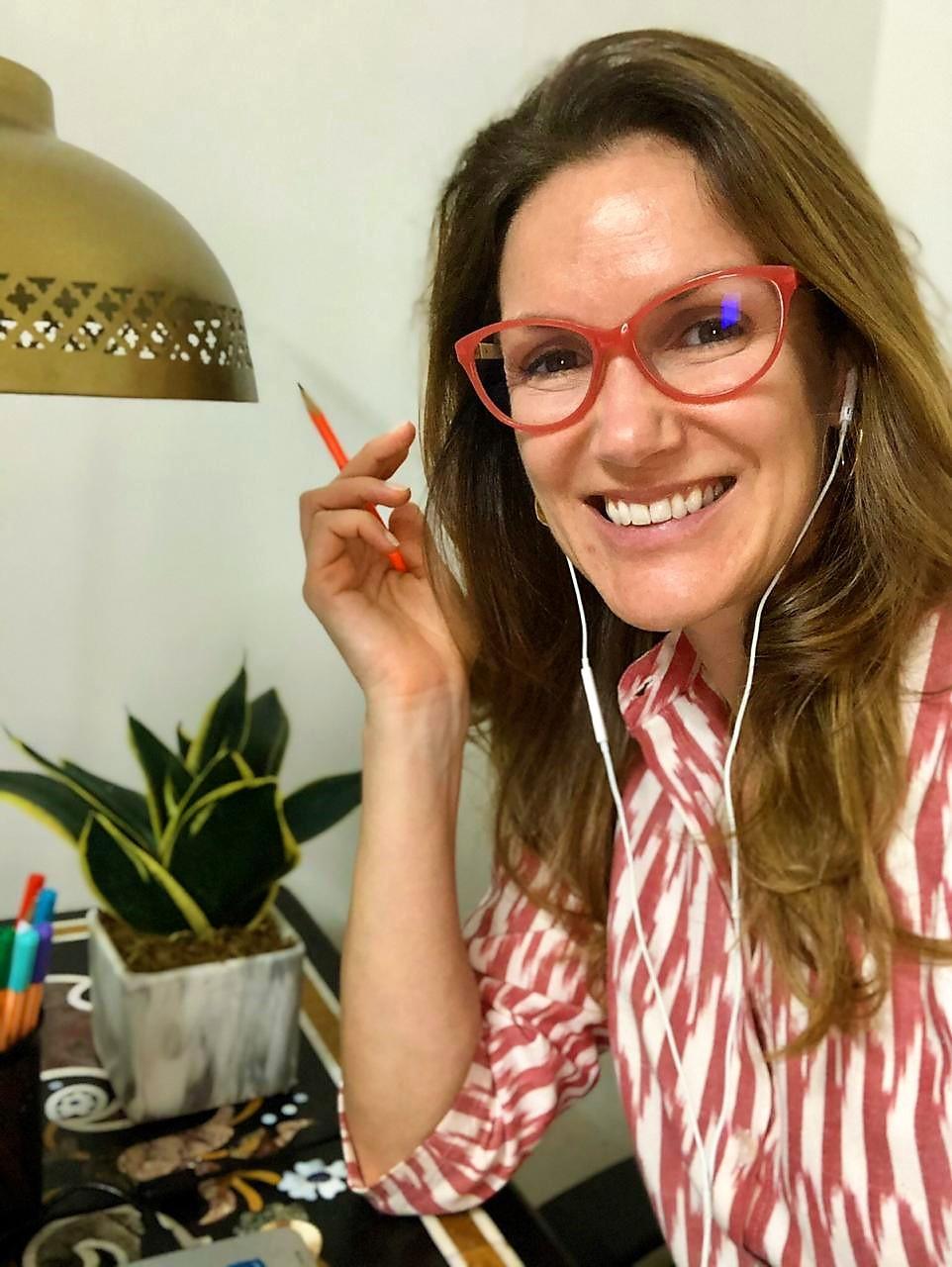 Marcela, uma brasileira em Jaipur na Índia