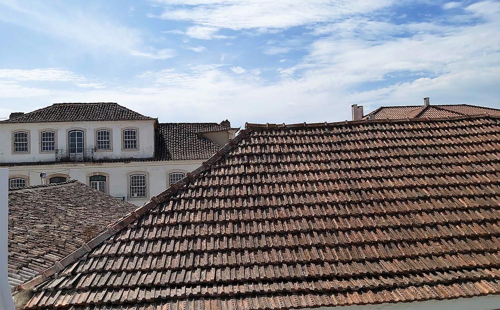 Telhados da Vila de Azeitão, Portugal