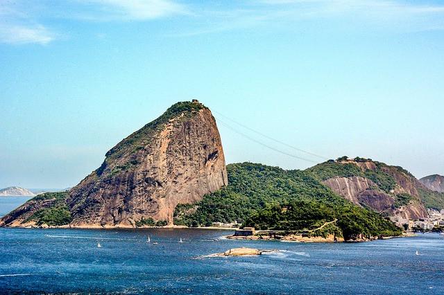 Forte de São João ou Forte da Urca e o Pão de Açúcar