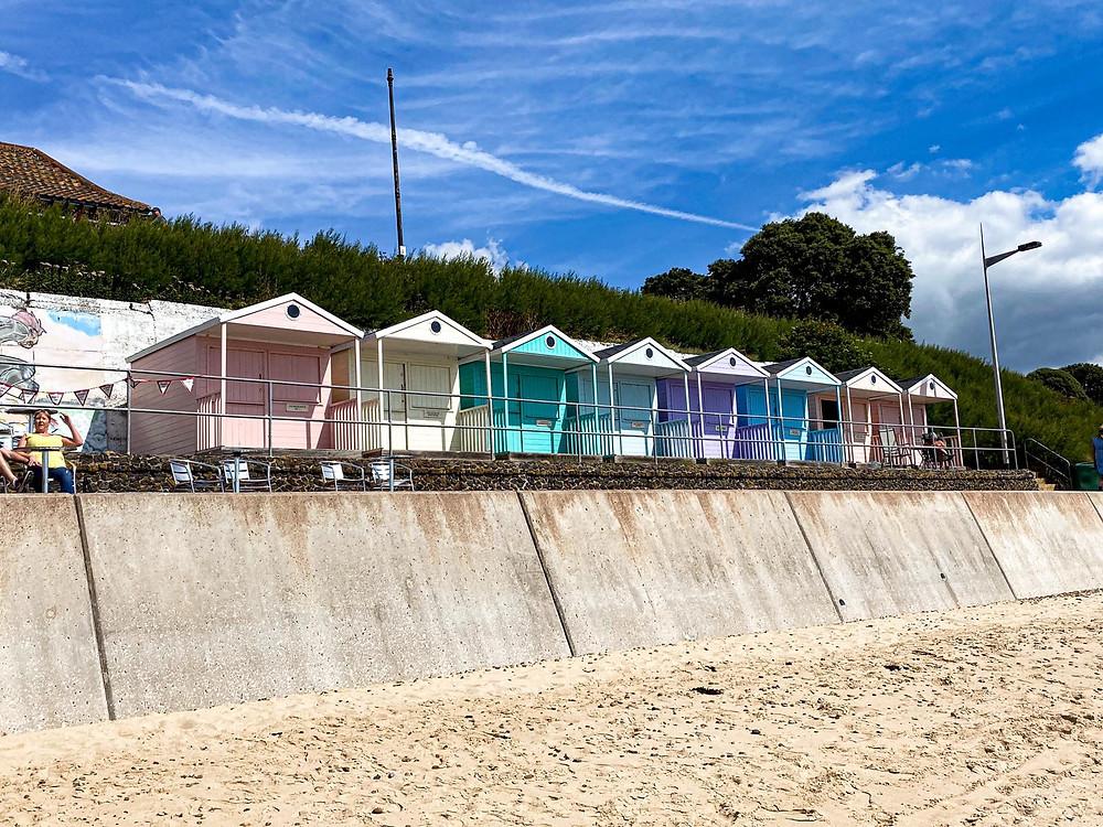 Beach Huts na Inglaterra