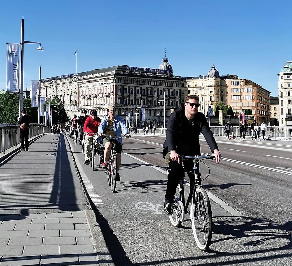 Estocolmo e bicicletas