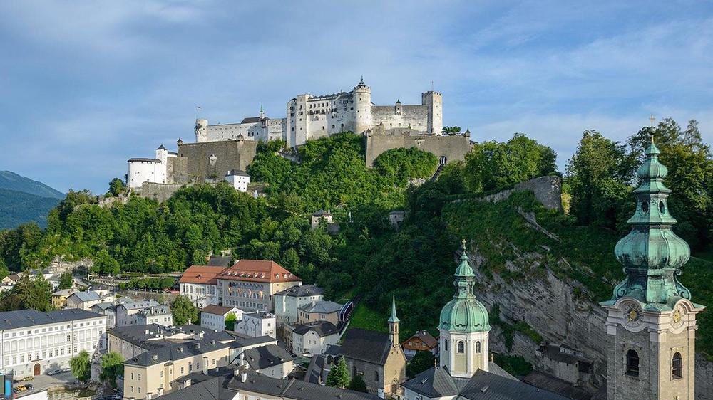 Hohensalzburg fortress, Áustria