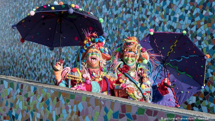 Colorido do Carnaval alemão