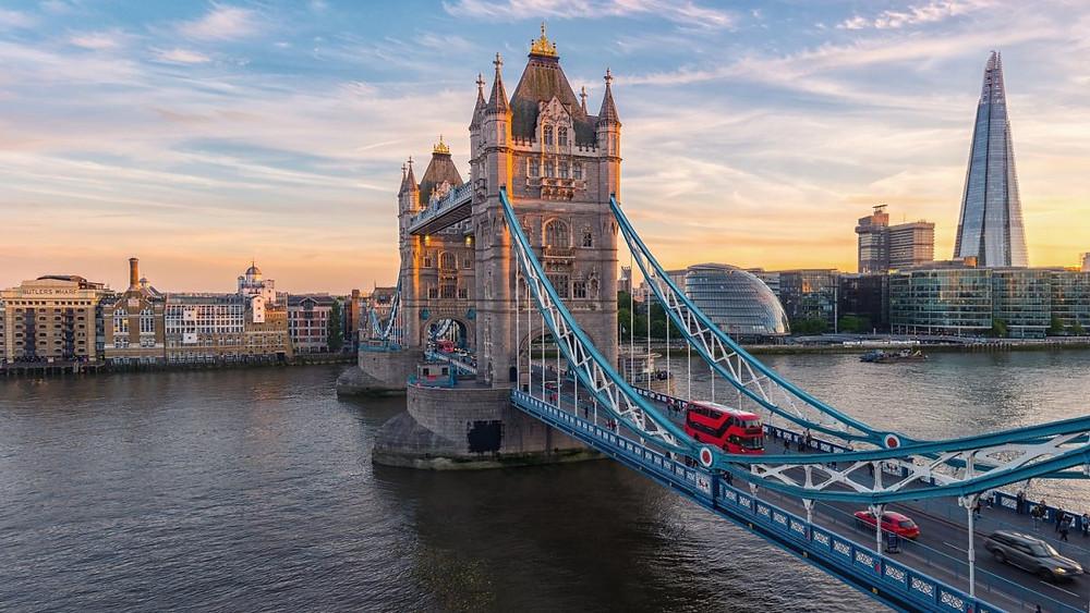 A famosa ponte de Londres ( foto: Pixabay)